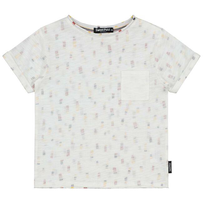 Sweet Petit peuter jongens shirt - White
