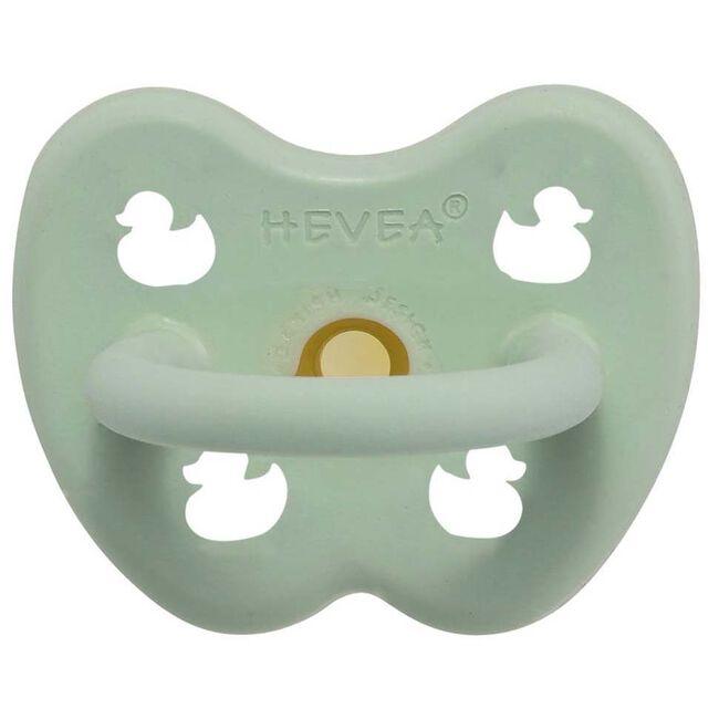 Hevea fopspeen Classic 0-3 maanden - orthodontisch 100% natuurlijk rubber - Mintgreen