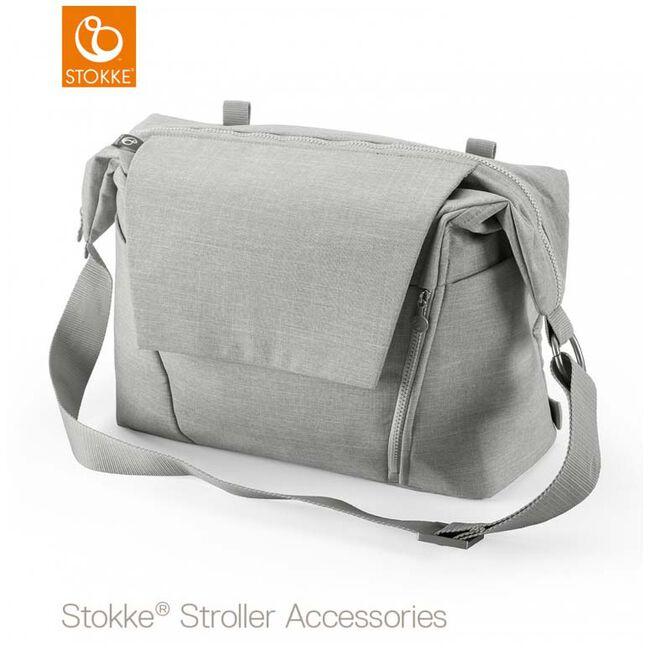 Stokke luiertas brushed - Brushed Grey