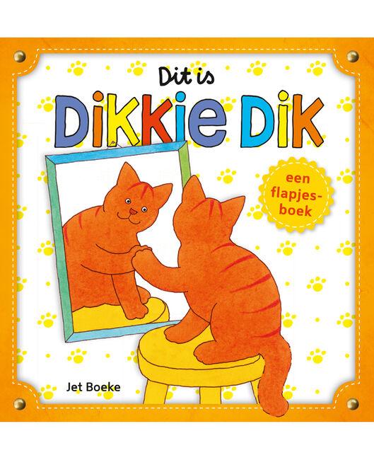 Dit is Dikkie Dik flapjesboek - Geen Kleurcode