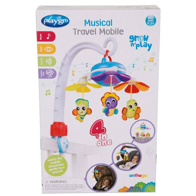 Playgro musical travel mobile - Multi
