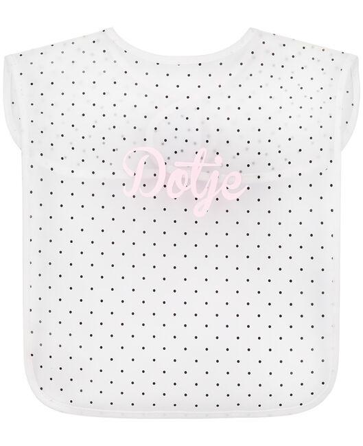 Prénatal plastic slab dotje - White