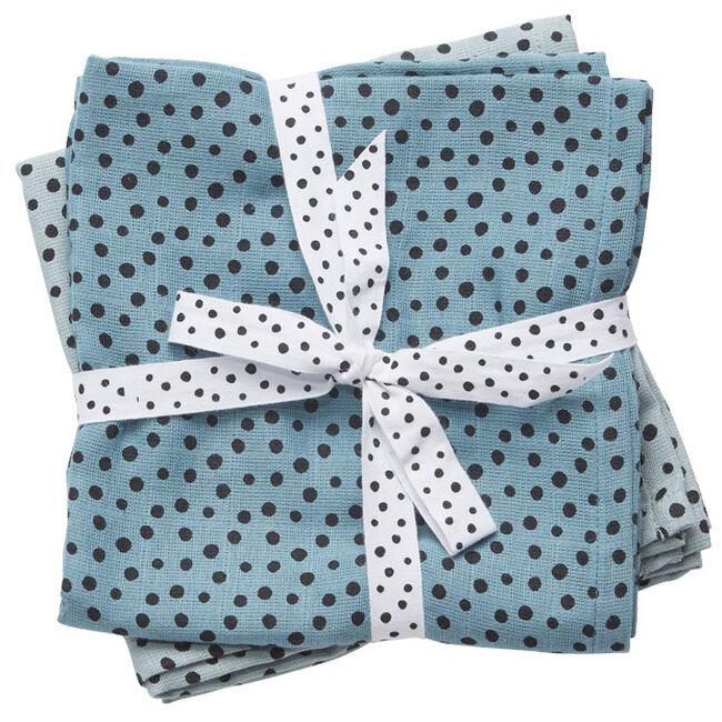 Done by Deer hydrofiele luier happy dots - Blue