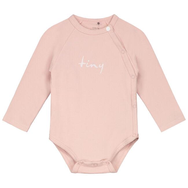 Prénatal newborn meisjes overslag romper - Pink Shade