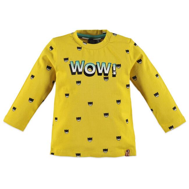 Babyface peuter jongens t-shirt - Yellow