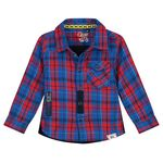 Quapi peuter jongens blouse - Dark Blue