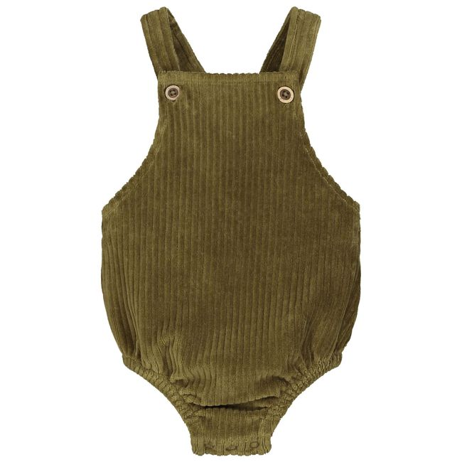 Sweet Petit baby meisjes body Lana - Dark Olive Green
