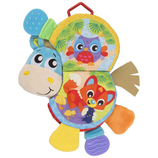 Playgro Clip Clop Teether Book - Multi