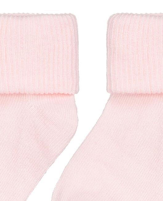 Prénatal peuter unisex sokken 2-pack - Powder Pink