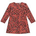 Prénatal baby meisjes jurk - Orange Shade