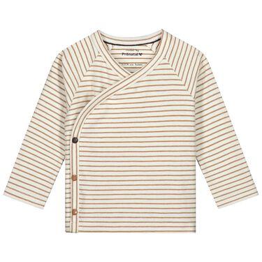 Prénatal newborn overslagshirt Pure -