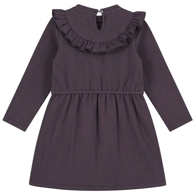 Prénatal baby meisjes jurk - Dark Plum