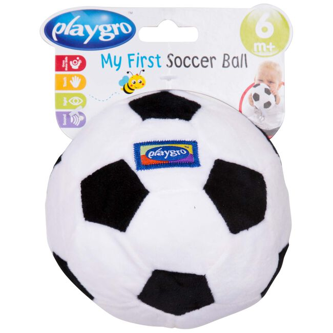 Playgro my first soccer ball - White