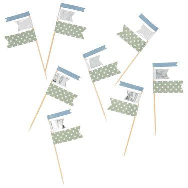 Prénatal partyprikker blauw -