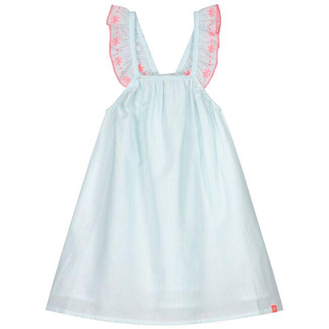 Prenatal peuter meisjes jurk - Light Azur Blue