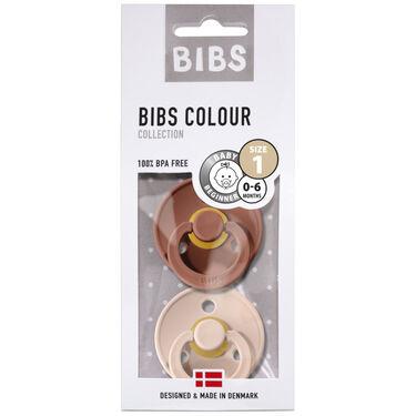 Bibs fopspeentje Size 1 - Woodchuck/ Blush