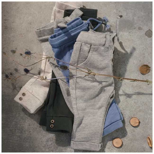 Sweet Petit peuter unisex legging joss - Black/Brown