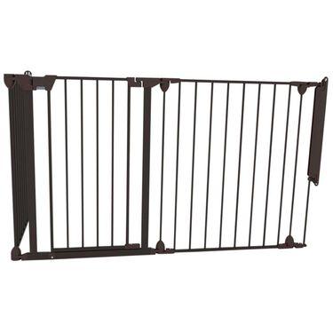 Noma modular veiligheidshek - 3 panelen - Black