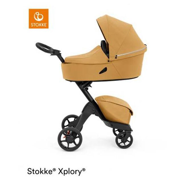 Stokke Xplory X reiswieg - Golden Yellow