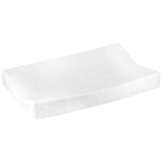 Prénatal aankleedkussenhoes badstof - White