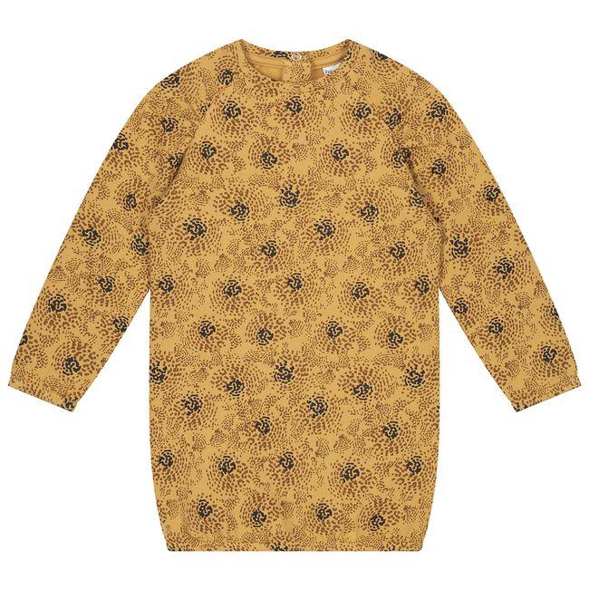 Prénatal baby meisjes jurk - Yellow Shade