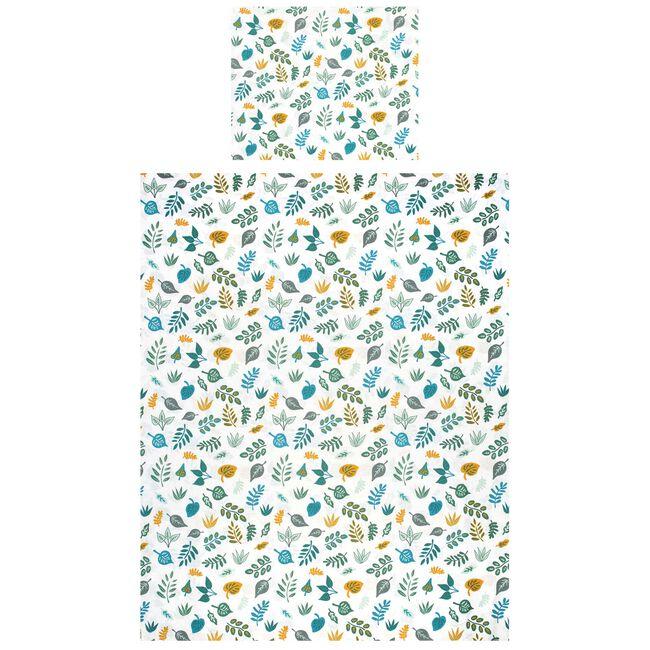 Prenatal junior dekbedovertrek all over print - White