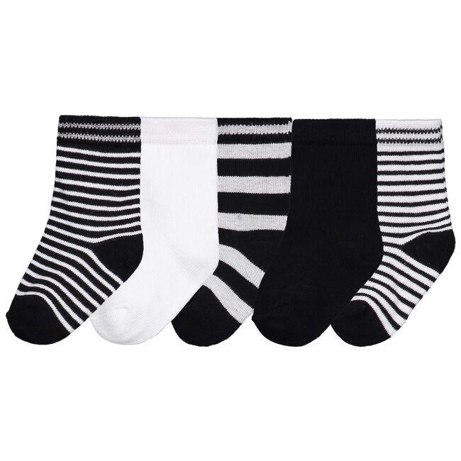 Prénatal unisex sokken 5-pack - Black