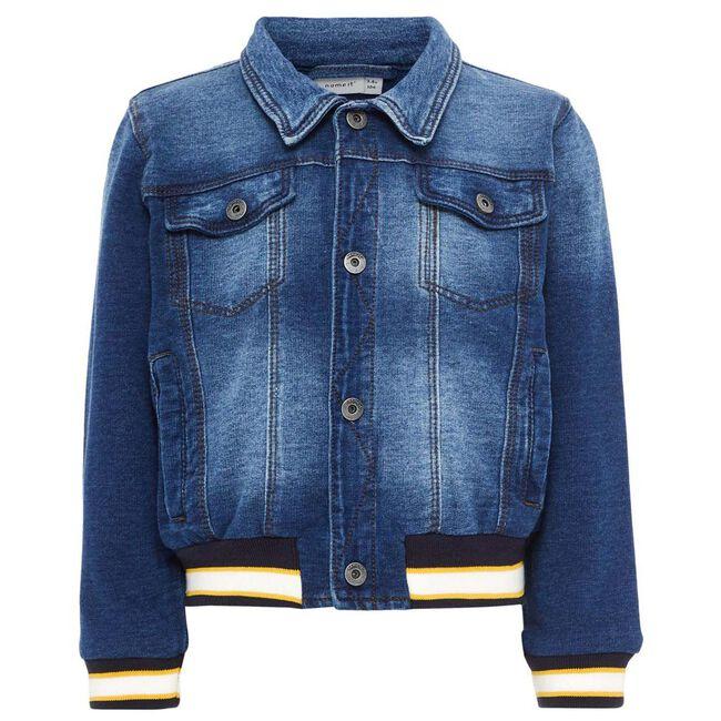 Name it peuter jongens jacket - Mid Blue Denim