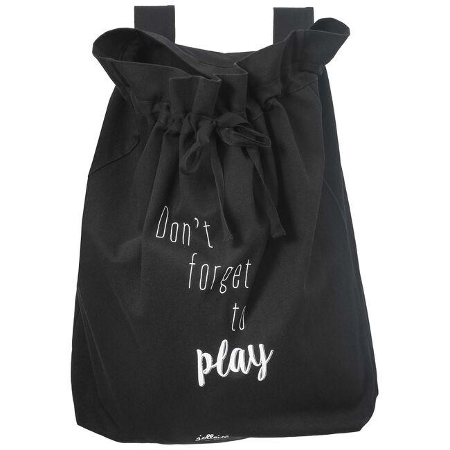 Jollein Boxzak Don't forget to play - Black