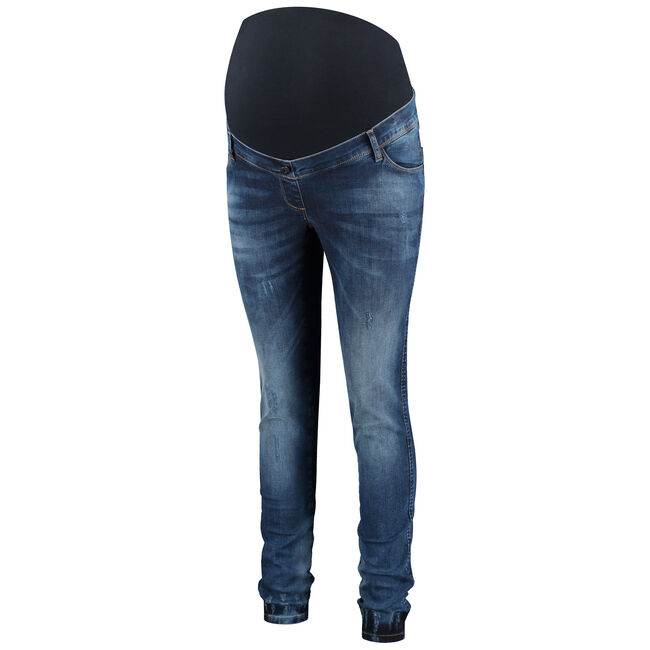 Love2wait zwangerschapsbroek - Denim